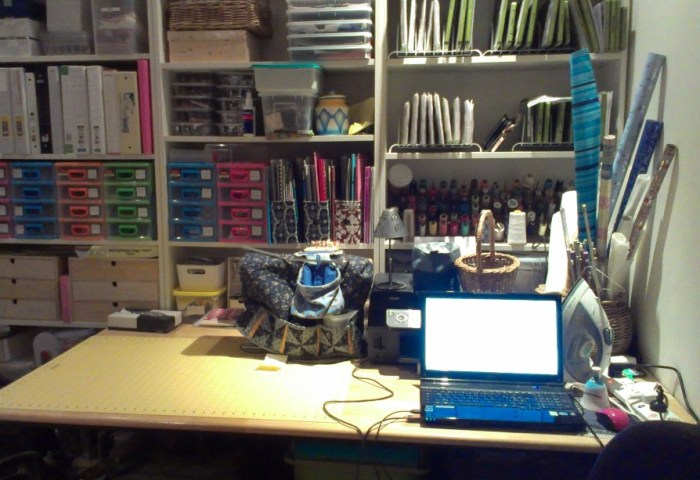 Getting Organized and Some Stitching
