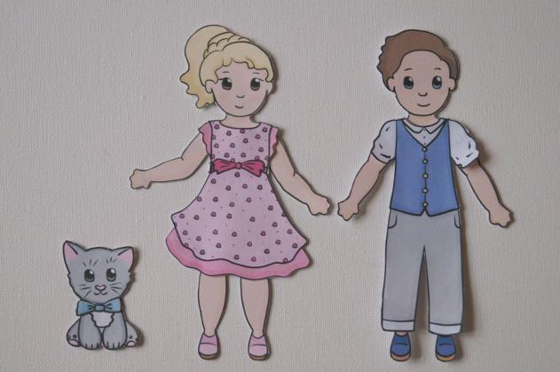 Prince And Princess Paper Dolls