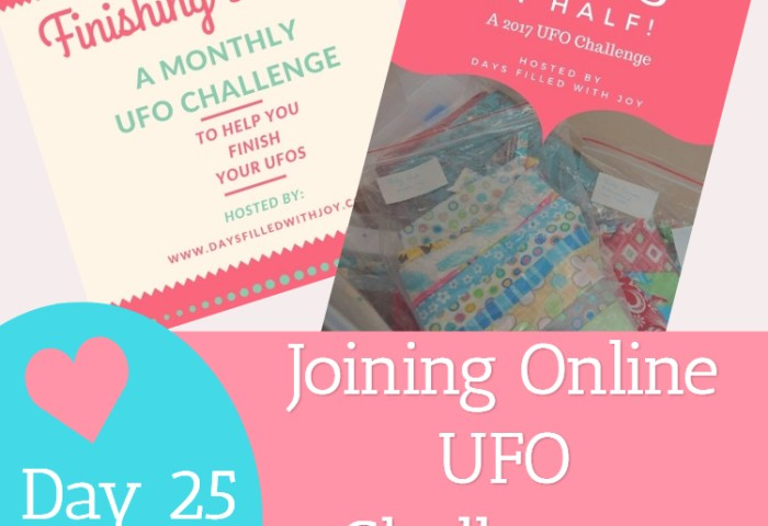 Day 25 – Joining Online UFO Challenges