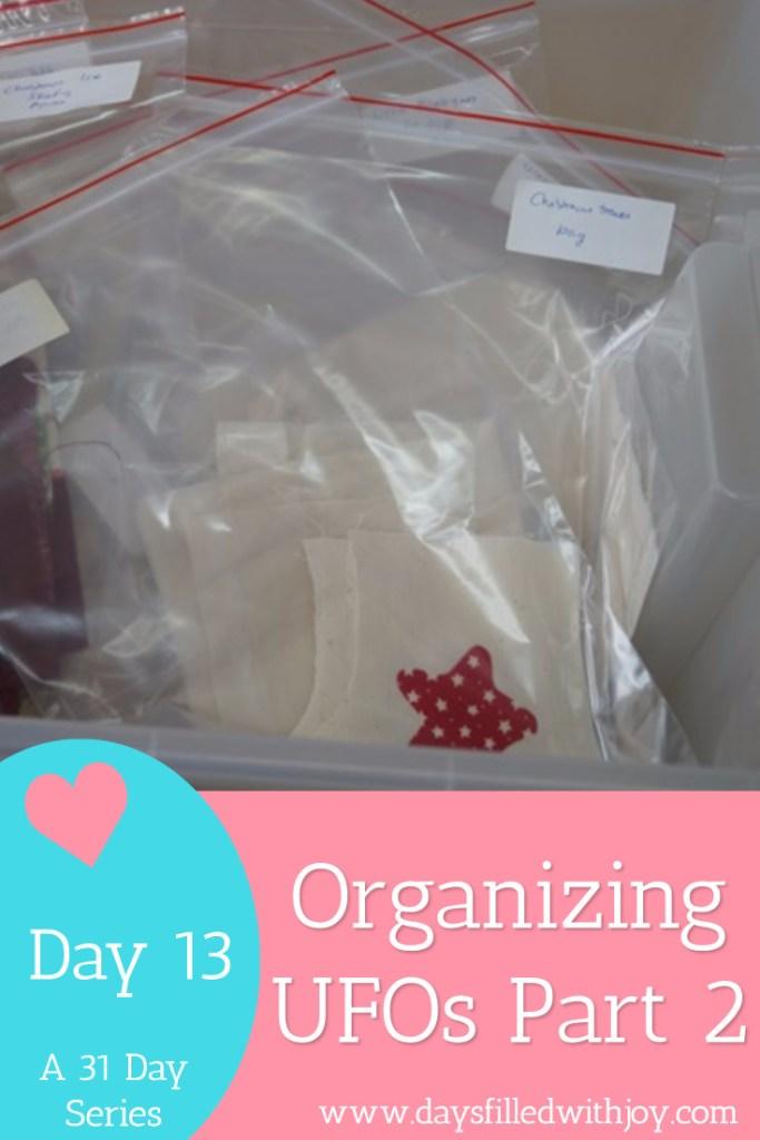 organizing ufos part 2