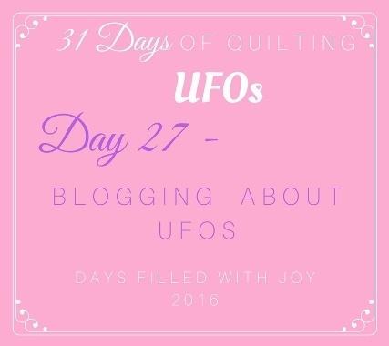 Day 27 – Blogging About UFOs