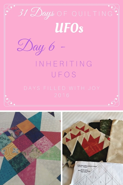 Day 6 - Inheriting UFOs