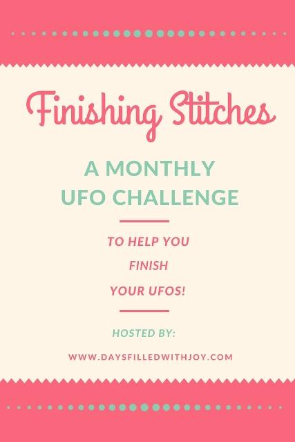 Finishing Stitches Monthly UFO Challenge