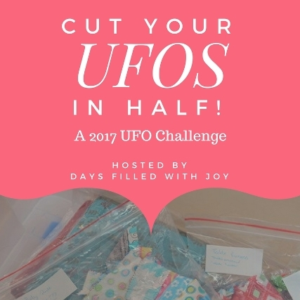 Cut your UFOs in half in 2017, UFO challenge