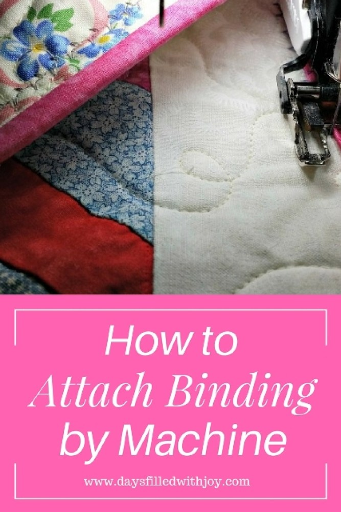 how to attach binding by machine