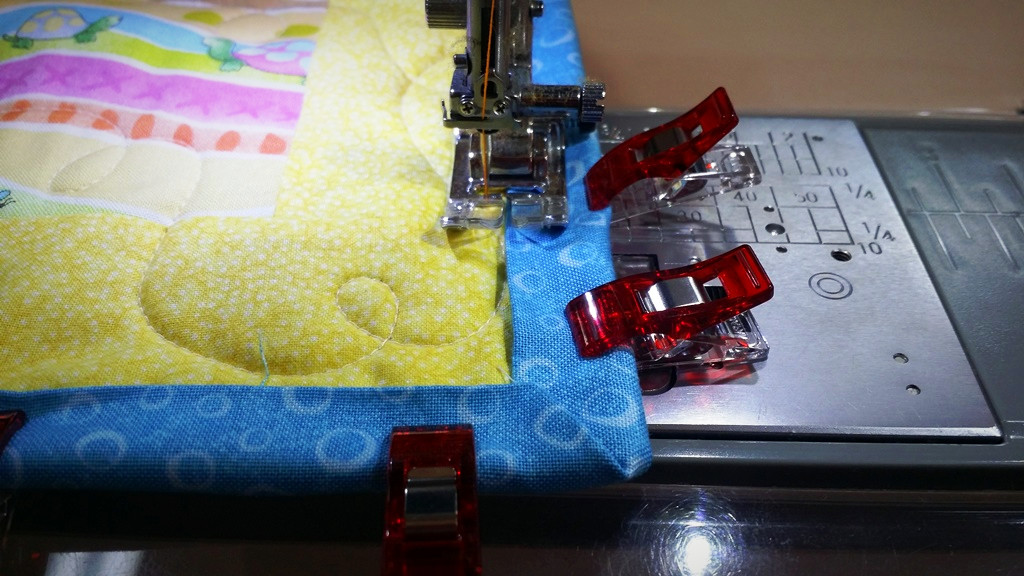 Using Decorative Stitches for Binding