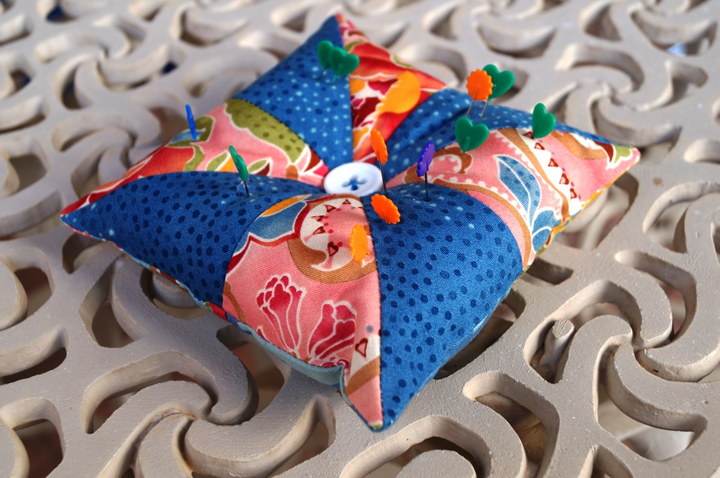 pinwheel pincushion