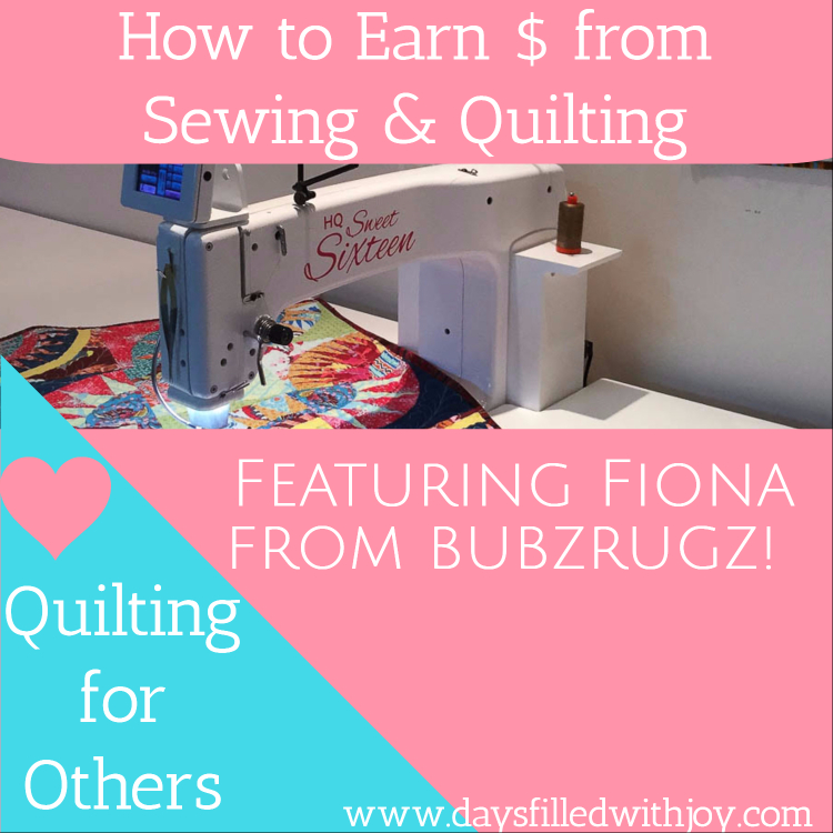 Quilting for Others - Featuring Fiona from Bubz Rugz!