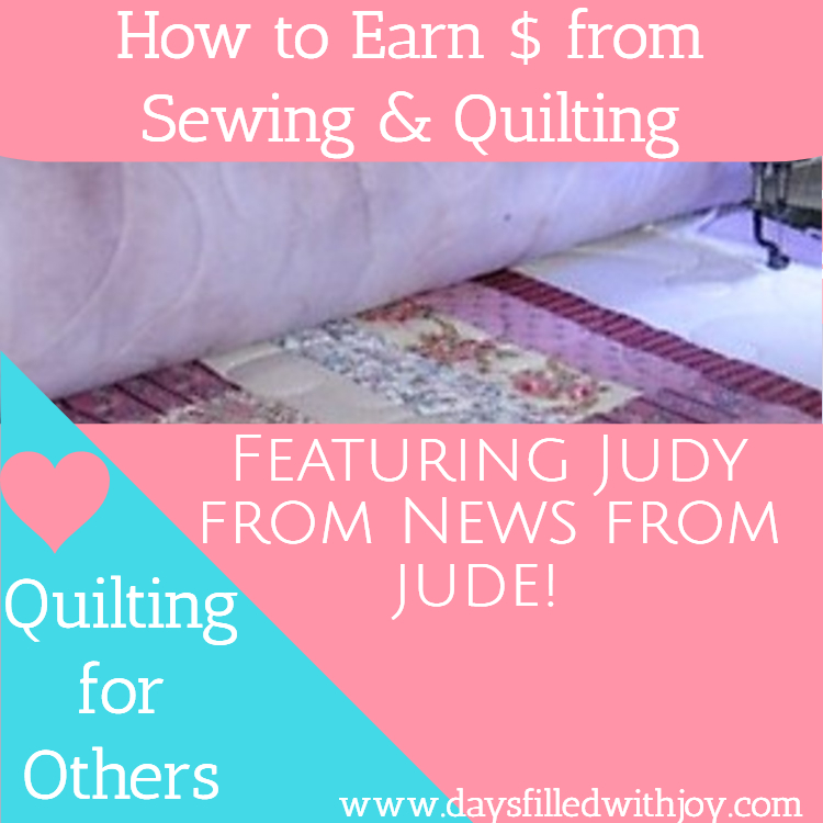 Quilting for Others - Featuring Judy from News From Jude!