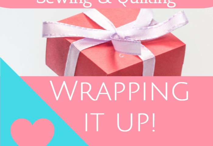 Write 31 Days – How to Earn $ From Sewing and Quilting Wrap Up!