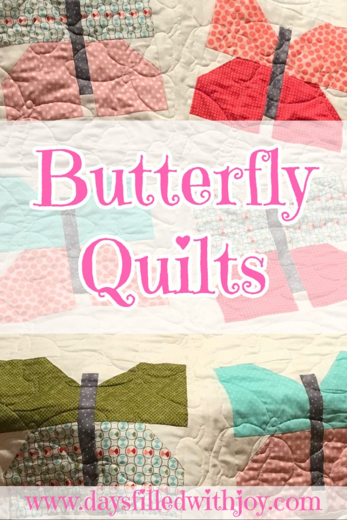 Gorgeous Butterfly Quilts - link to free pattern