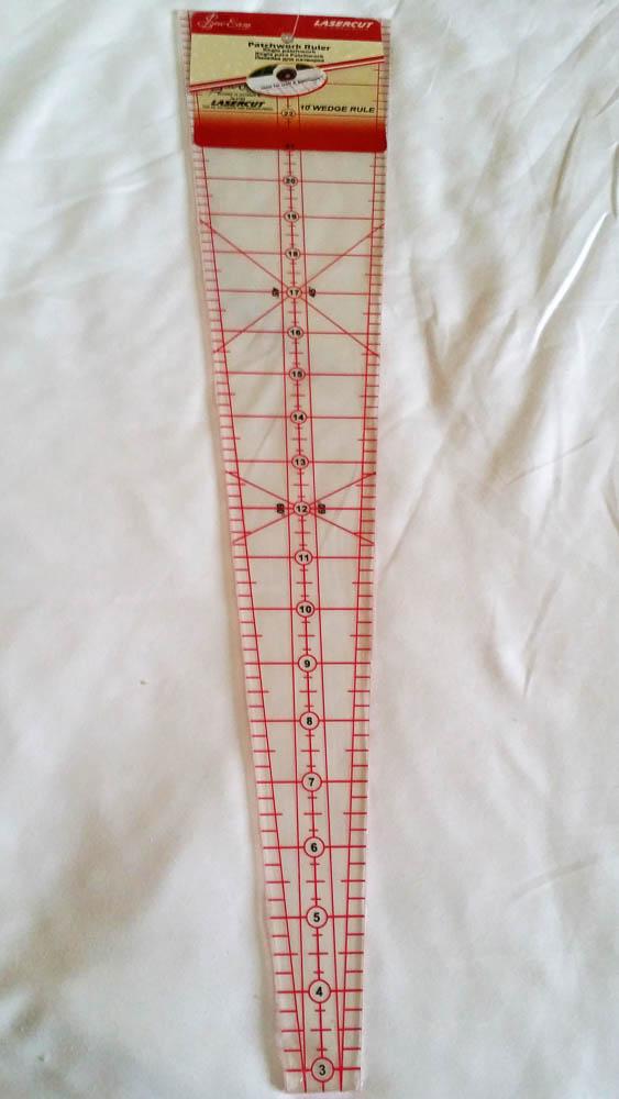 Sew Easy 10 degree ruler