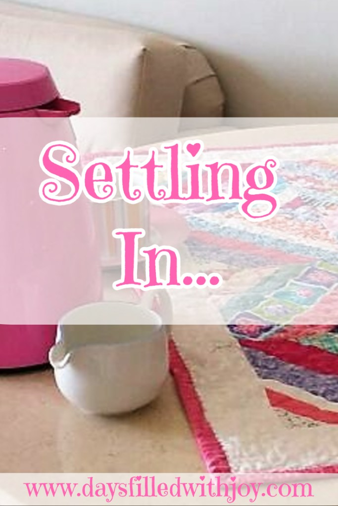 A Quilter settling in to a new country....