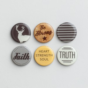Be Strong - Inspirational Magnets, Set of 6