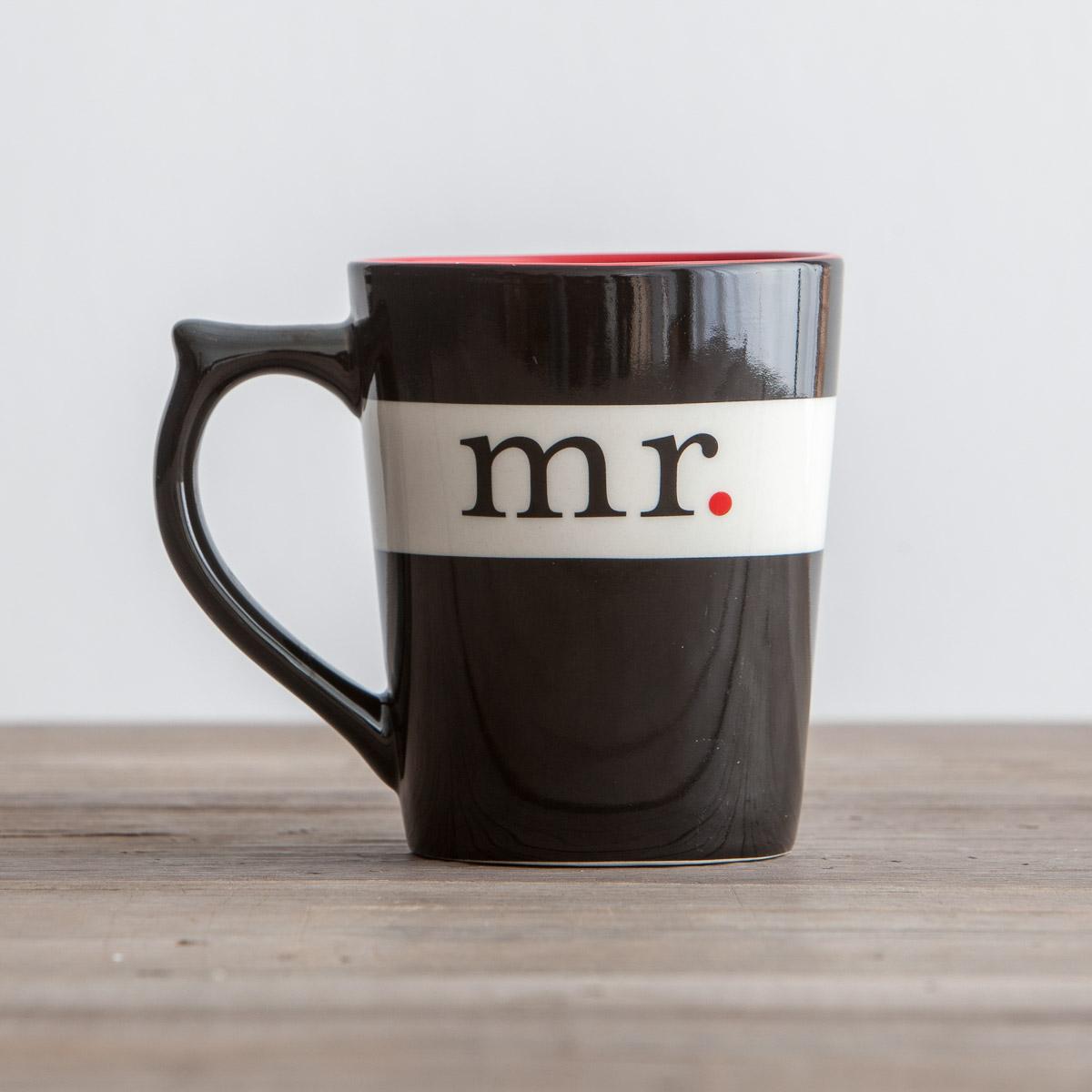 Mr. & Mrs. - Mr. Mug
