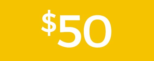 Contribute $50 to Daystar.