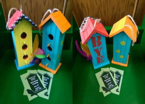 Bird House Craft Event