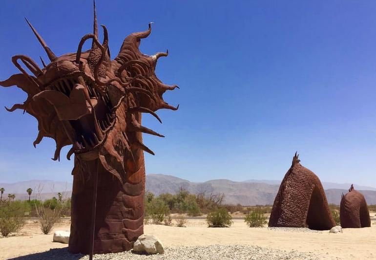 Borrego Springs Day Trip Galleta Meadows Metal Sculptures