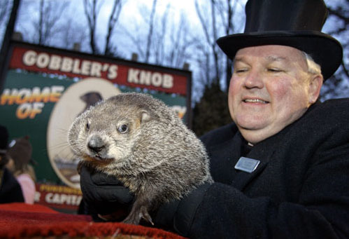 PA's most famous groundhog