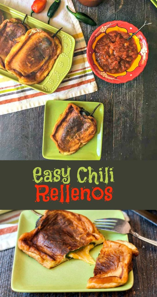 Easy Chili Rellenos, a Mexican favorite you can easily make at home.