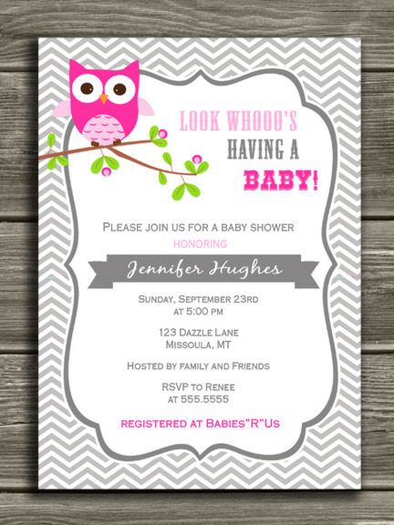 Birthday Invitation Card Print