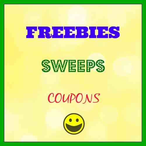 Freebies, Sweeps, Coupons