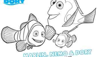 Finding Dory Coloring Pages – #Disney #FindingDory