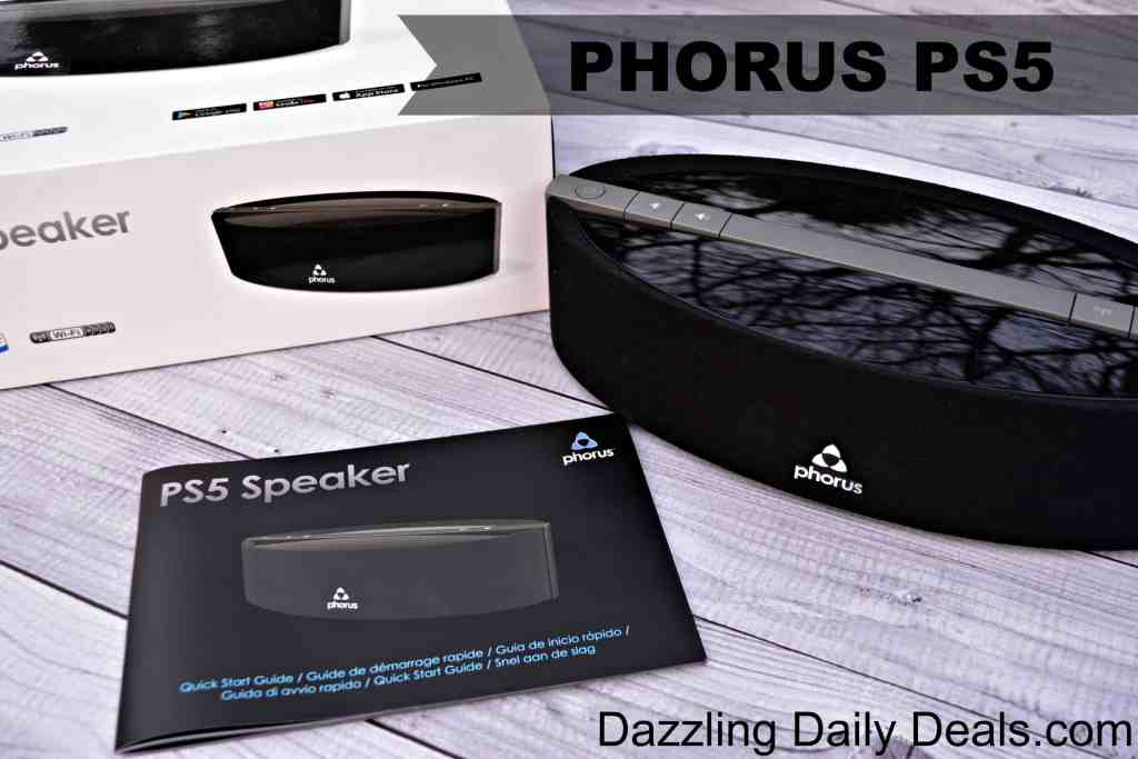 Phorus PS5 Premium Multi-Room Wireless Streaming #GIVEAWAY