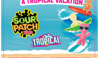 Enter the SOUR PATCH Kids Tropical Vacation Sweepstakes for a chance to win a trip for four to Hawaii! #ad #spktropicalsweepstakes