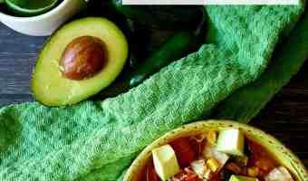 Easy Chicken Tortilla Soup #BushsBeansFallFlavors #AD