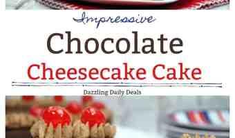 Impressive Chocolate Cheesecake