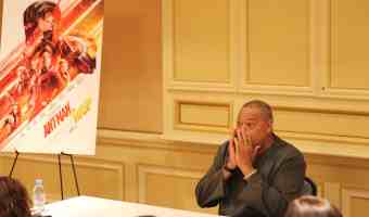 Laurence Fishburne Shares With Us His Reaction To Ant-Man and The Wasp #Antmanandthewaspevent