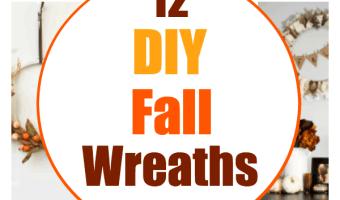 12 Easy DIY Fall Wreaths For The Season
