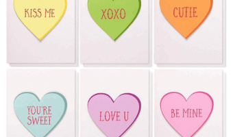 HOT DEAL on 12-Pack Cute Handmade Valentine's Day Greeting Cards!