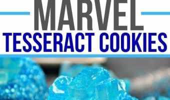 Marvel Tesseract Cookies Recipe