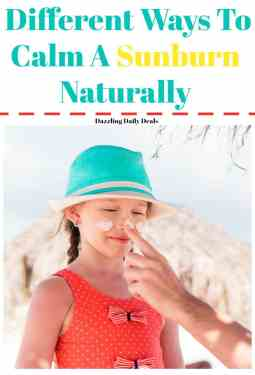 6Different Ways To Calm A Sunburn Naturally