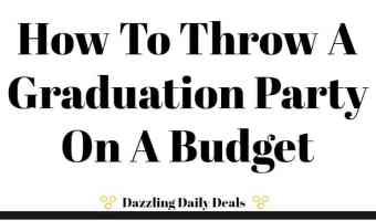 How To Throw A Graduation Party On A Budget