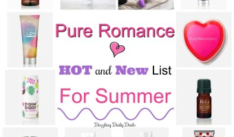 Pure Romance Hot And New List For Summer
