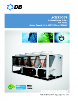 Achelous-Air cooled screw chillers