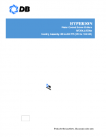 Hyperion-Water cooled screw chillers