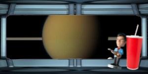 Spaceship windshield