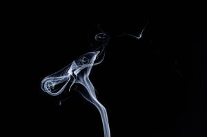 Smoke trail