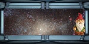 Spaceship window
