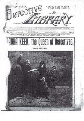 Title Page: Laura Keen, the Queen of Detectives