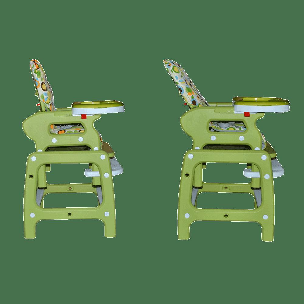 D'bebe silla alta reclinado