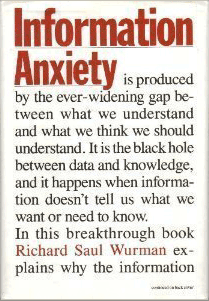Review of 'Information Anxiety'