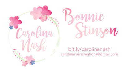 Carolina Nash Business Card Front