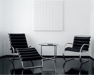 MR lounge chair & chaise, Ludwig Mies van Der Rohe (Knoll)