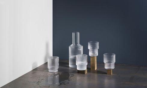 Kolekcija Ripple Glass, Ferm Living
