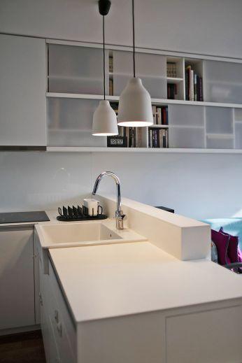Ove divne lampe prototip su mladih hrvatskih dizajnera Filipa Havraneka i Kristine Lugonje / foto: Borko Vukosav